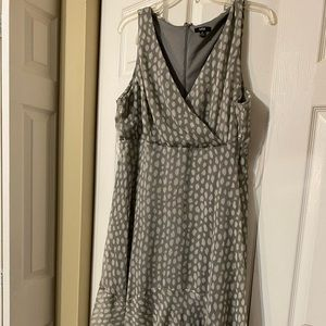 Dress with ruffled bottom